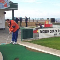 Photograph of John Moore in World Crazy Golf champs